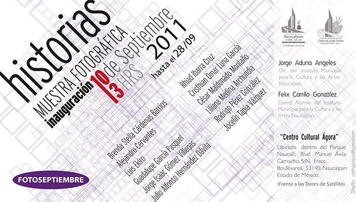 """Historias"" Festival Fotoseptiembre"