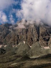 Spurs (Lumase) Tags: mountain alps clouds trekking spurs hiking plateau hike alpine shadowplay wilderness peaks verticality valdala glaciallakes bessanese xz1