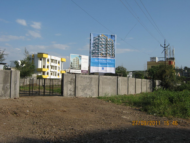 Site of Pinnac West-End Residency, 2 BHK Flats, near Aditya Garden City, Warje, Pune
