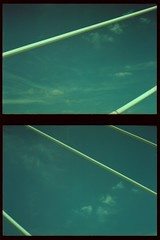 somewhere in france #9 viaduc de millau (douweplukkel) Tags: bridge france pen xpro olympus oldschool crossprocessing kit olympuspen rapid millau viaduc mimoa c41 viaducdemillau ee2 olympuspenee2 tetenal