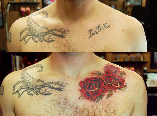 CoverUp Script to Roses James Danger Harvey Painful Pleasures Tattoo