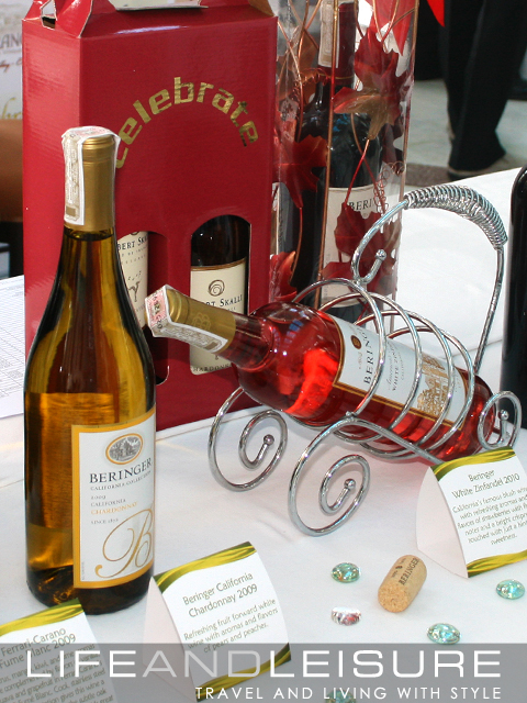 Happy Wines booth at Enderun's Wine Tasting Event