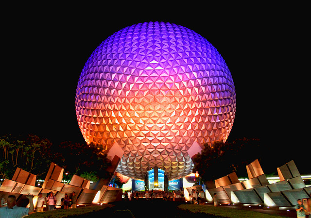 Daily Disney – Spaceship Earth