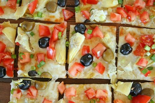 Mediterranean Pizza 5