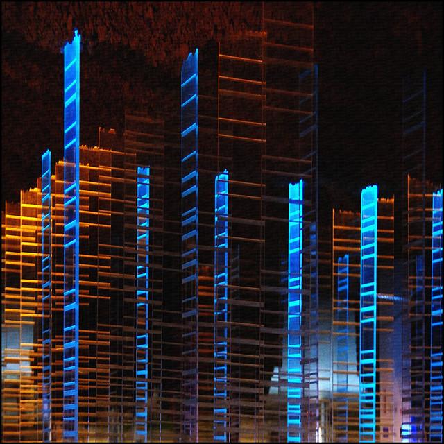 mirage of city