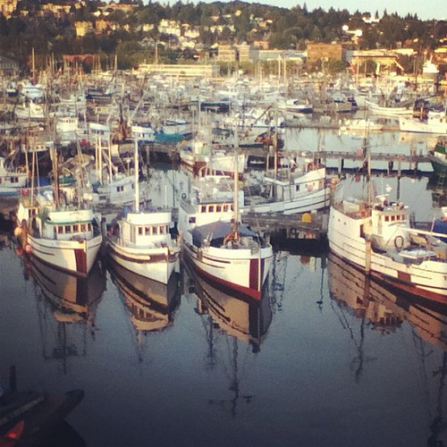 The Ballard fleet waits for their season. by JTobiason Photography