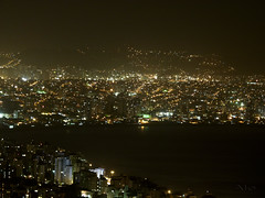 Ilha-Continente (Ale.Almeida.Photos) Tags: cidade sc florianópolis noturna luzes beiramar continente morrodacruz estreito