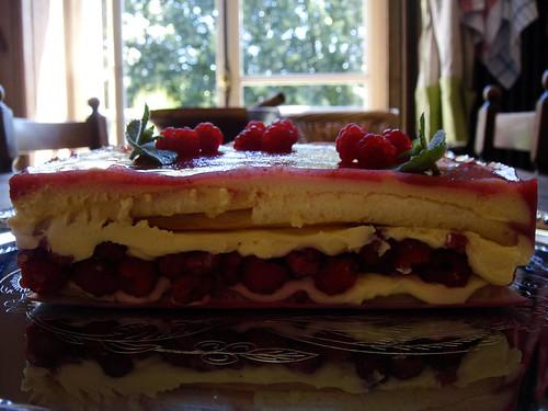 Le fraisier/framboisier