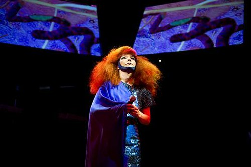 Bjork at Manchester International Festival