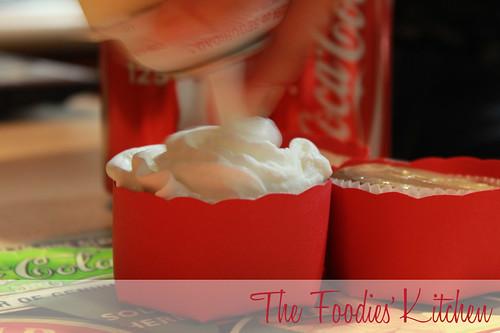 Coca-Cola Cupcakes
