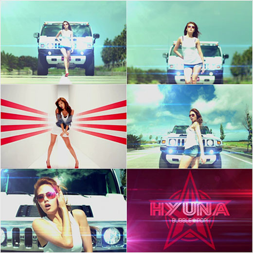 "HyunA releases comeback teaser MV, ""Bubble Pop!""  1"