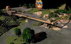 Minecraft World Render (Niq Scott) Tags: minecraft mcobj