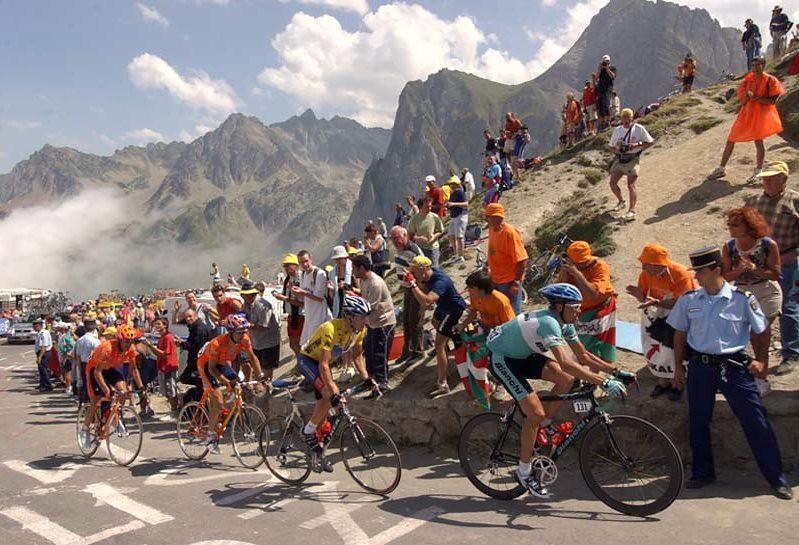 col du Tourmalet lors duTour de France 2003 météopassion