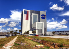 NASA Vehicle Assembly Building (BrianMoranHDR) Tags: photography space nasa kennedyspacecenter capecanaveral spaceshuttle hdr vehicleassemblybuilding endeavour canon1740mmf4l hdrsoft topazlabs canon60d niksoftware colorefexpro3 viveza2 sts134 adobephotoshopcs5extended denoise5 silverefexpro2 photomatixpro402