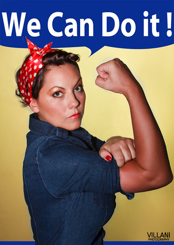 Rosie the Riveter by Marco Villani