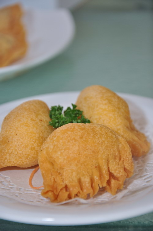 deep fried prawn dumplung