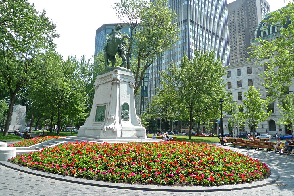 Copyright Photo: Dominion Square, Montreal 2011 by Montreal Photo Daily, on Flickr
