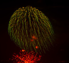 2011 Fireworks from YBI View-40 (JIM Mourgos) Tags: sanfrancisco holiday treasureisland fireworks fourthofjuly independenceday ybi aquaticpark yerbabuenaisland 2011