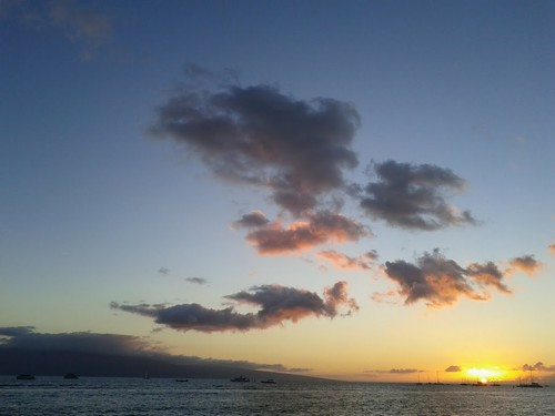 Maui Sunset from Lahaina