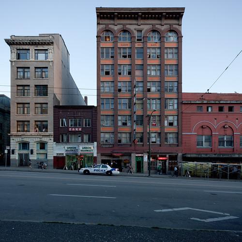 Regent Hotel, Union Market, Hastings Street