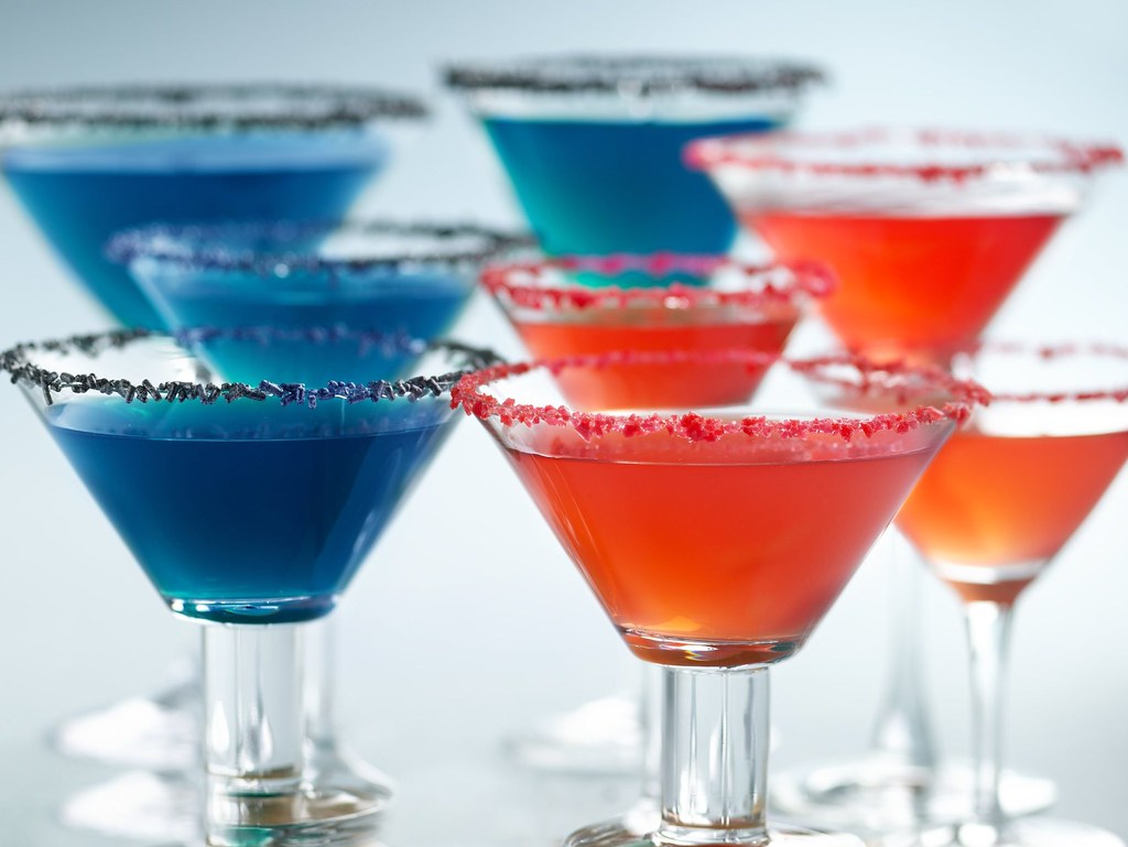 Patriotic Margaritas Recipe