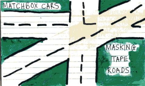 Masking Tape Roads