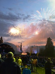 Fireworks at The Bootleg Beatles and Bjorn Again Concert Audley End House Audley End July 2011 B (symonmreynolds) Tags: concert fireworks livemusic july englishheritage audleyendhouse audleyend 2011 bjornagain gigg thebootlegbeatles agnethafalstart bennyanderwear fridalongstokin bjrnvolvous