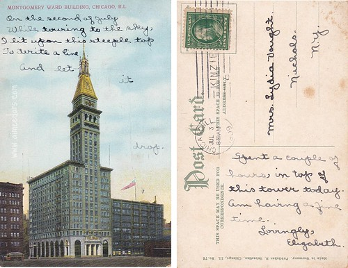 Montgomery Ward Building Chicago - 1909