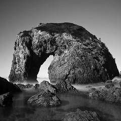 Horse Head Rock (William_James1958) Tags: ocean new horse white seascape black rock wales coast long exposure head south australia horsehead bermagui