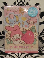 My Melody 3-Tier Memo Pad (Suki Melody) Tags: hello pink 3 cute rabbit bunny set mall paper mouse store illinois strawberry flat character piano pad kitty sanrio collection melody memo kawaii schaumburg letter lamb stationery tier woodfield