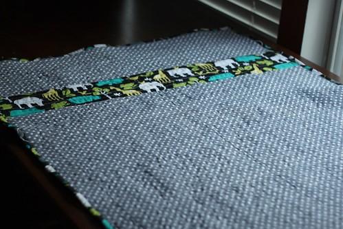 Unisex Quilt (back)