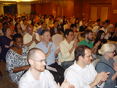 Audience Applause at MIT meeting in Beijing 00071