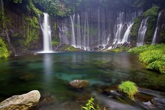 Wide view of Shiraito Falls, Japan (ChR!s H@rR!0t) Tags: mygearandme