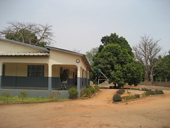 One side of the clinic