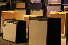 Fender Deluxe Reverb, Fender Hot Rod Deville (bergstenmusic) Tags: orange electric vintage guitar amp stack marshall fender roland sound blonde mesab