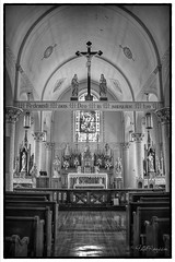 Saint Martin's (Phil Roussin Photography - PBR Photos) Tags: usa catholic german missouri rhineland romancatholic apse stmartinschurch nationalregisterofhistoricplaces starkenburg tonemapped dioceseofjeffersoncity httpwwwhistoricshrineorgstmartinschurchhtm