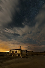 Moonlight (David Martin Castan) Tags: longexposure summer moon mountain art nature night clouds stars landscape explore nubes estrellas 12 cdc bardenas nikond700 largaexposicionnocturna nikkor1424mmf28edgafs cazadoresdecielos
