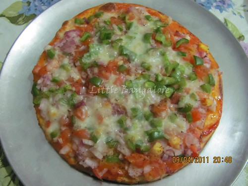 Pizza ready to serve :)
