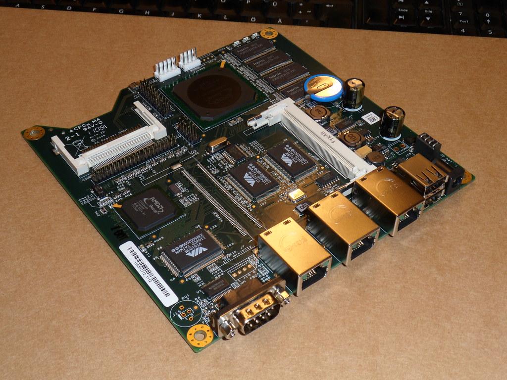 Mainboard ALIX 2D13, w/ AMD LX800