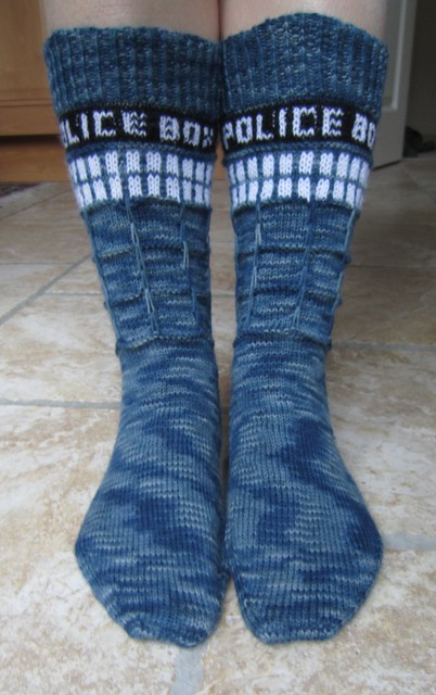 Knitographical: D is for Doctor Who