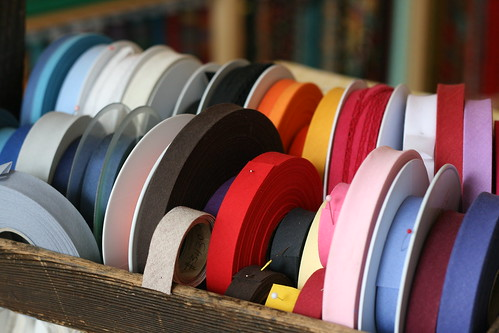 Solid Coloured Bias Tape