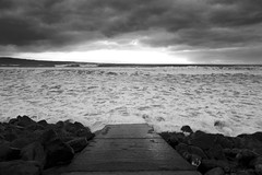 Rough Sea (Volker Becker) Tags: ireland bw seascape coclare liscannorbay