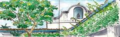 Day27 (melbergink) Tags: travel moleskine pen ink watercolor sketch ecuador journal