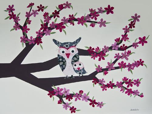 cherry-blossom-owls1