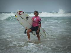 Ophelie Ah-Kouen (FRA) - Roxy Jam Biarritz 2011 (tkif100) Tags: woman surf waves competition longboard pro roxy jam vagues biarritz internationale 2011 cotedesbasques ophelieahkouen
