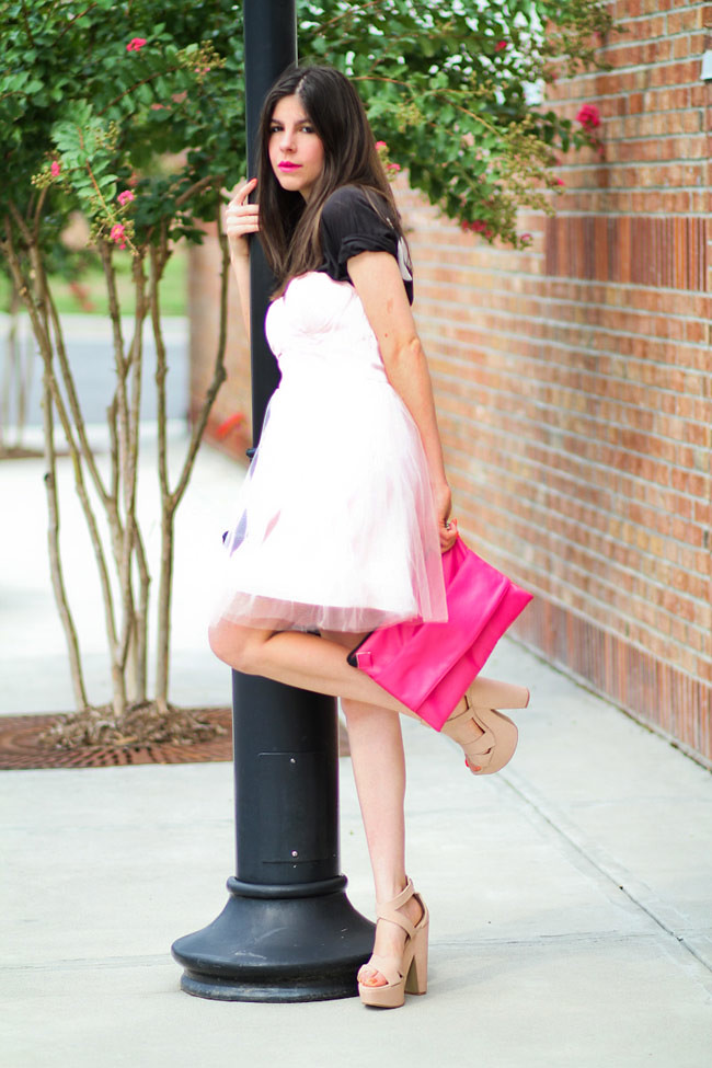 Tulle Prom dress, Sweetheart neckline, Pink dress, Fashion outfit