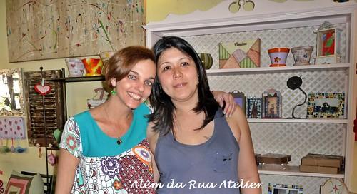 Visitas no Além da Rua Atelier!!!