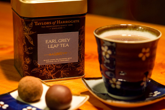 Harmonização de chá e chocolate