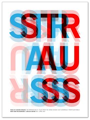 Strauss 3 (Paul N Grech) Tags: music newyork poster typography graphicdesign classical illustrator lincolncenter composer johannstrauss paulgrech philharomonic