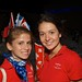 Two Team Canada-MILSET members at the opening ceremony of MILSET ESI 2011.